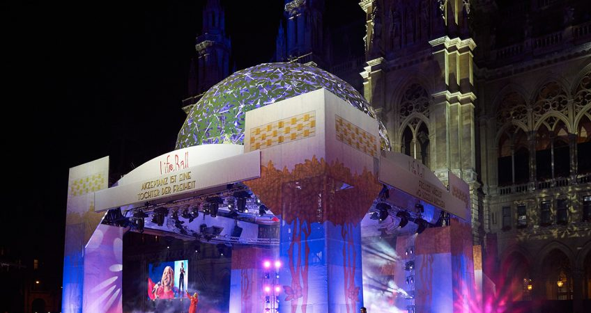 Life Ball Eventbranding