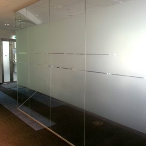 Sichtschutz Glasdekor