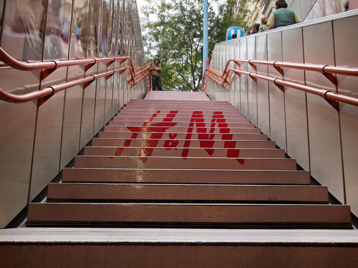 H&M Außenwerbung