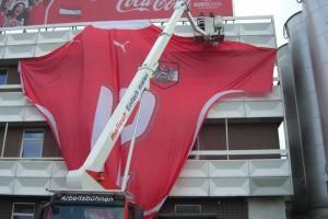 Coca Cola Werbemontage