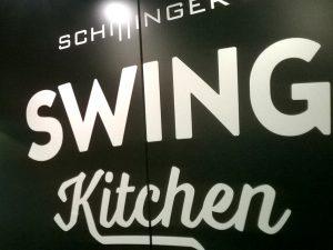 Swing Kitchen Beschriftung
