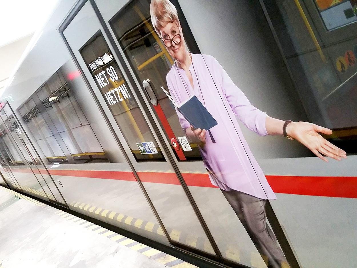 Türkampagne Wiener Linien